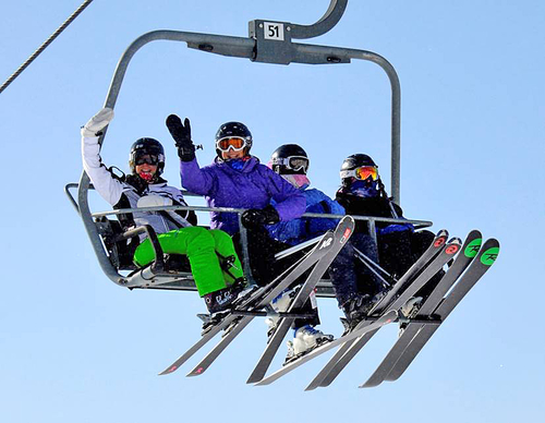 Moms can ski for $25 at Bromley Mountain on March 6.