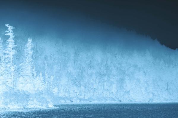 """Gene Parulis' """"Approach of Winter."""""""