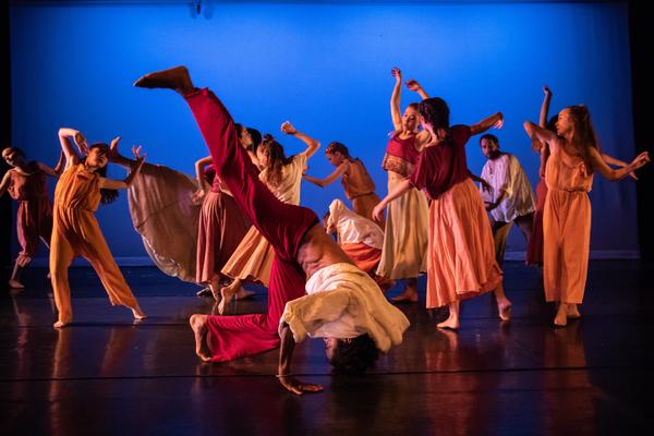 Dancers perform at previous BSD recitals.