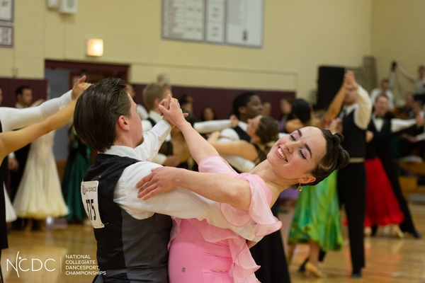 Justin Vasselli and Sophia Marx, dance instructors, will dance the cha-cha.