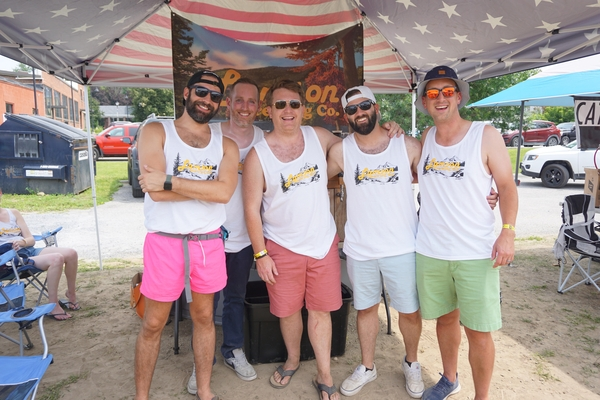 Lamson Brewing Co. won three major awards at the Southern Vermont Homebrew Festival, Saturday, August 7, including best brewery and best overall beverage. Photos courtesy of Southwestern Vermont Chamber of Commerce