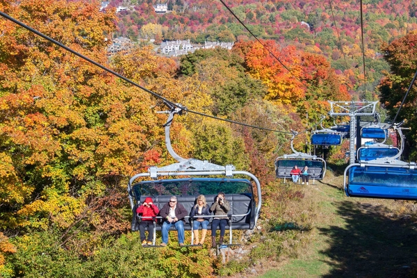 The Bluebird Express, will be doing chairlift rides up the mountain to get an aerial look at the leaves.