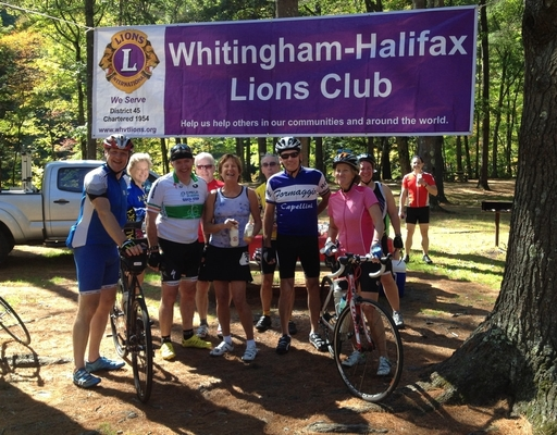 The Whitingham-Halifax Lions Club will host the bike tour on September 29.