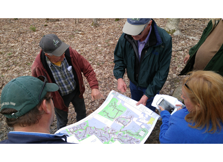 Members of the Wilmington Development Review Board and other officials made a site visit to the proposed East Tract development in May 2017.