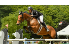 Ireland's Kevin McCarthy claimed a one-two finish in the $10,000 Show Jumping Hall of Fame High Junior/Amateur-Owner Jumper Classic on Sunday, August 11, to conclude the six-week Vermont Summer Festival.                                                                                       Andrew Ryback