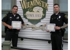 Hammond and Kirkman Accepting certificates
