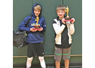 Brayden (left) and Landon (right) Brown
