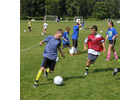 Jack McHale, left, attempts to elude Casey Sibilia during a drill at the 2014 Deerfield Valley 
