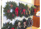 Wreaths offered by West River Habitat for Humanity.